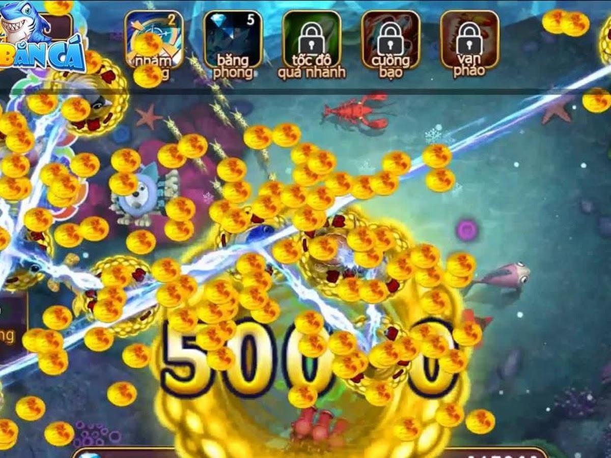 Game bắn cá hack tiền